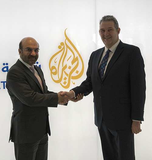 Al Jazeera Techlive Partnership