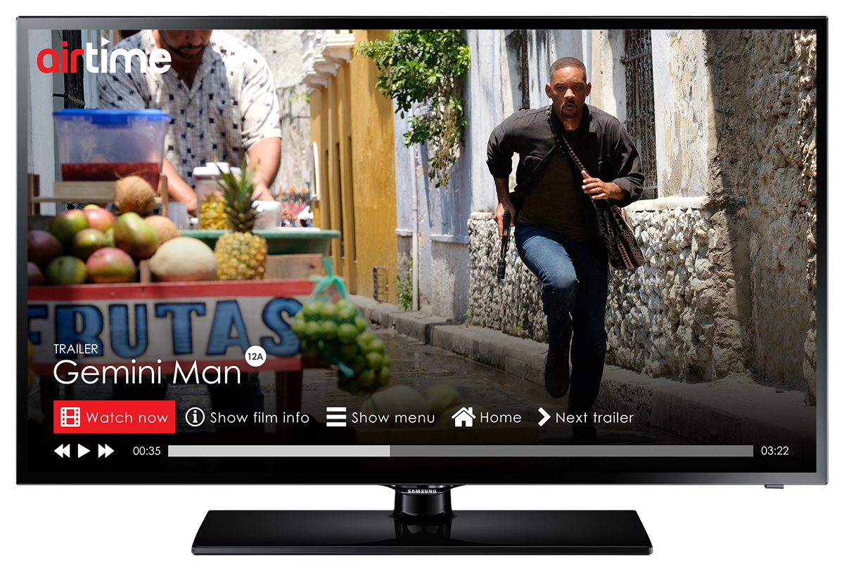Airtime App Hollywood Movies