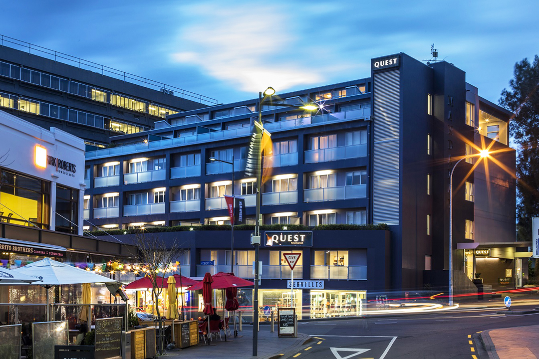 Image of the new quest New Zealand hotel.