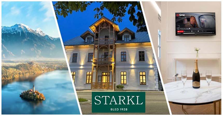 Image of hotel Starkl on the lake bled